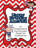 4th of July Emergent Reader Printable Book