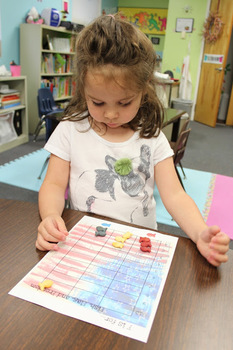4th of July-F is for Fourth, Fish, Flag, & Freedom-Sorting & Graphing Activity