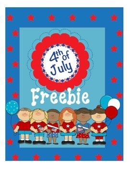 4th of July Freebie Writing Activity