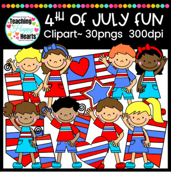 4th of July Fun Clipart