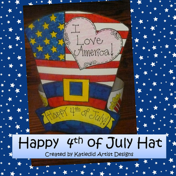 Fourth of July Patriotic Hat Craft