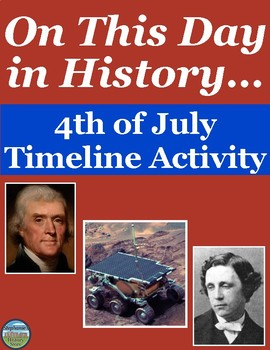 4th of July History Timeline
