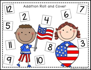 4th of July / Independence Day Roll & Cover Games!