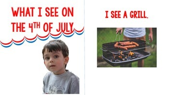4th of July Interactive Book