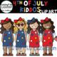 4th of July Kiddo Clip Art {Kids Clip Art}