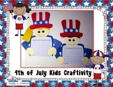 4th of July Craft {4th of July Kids Writing Prompts}