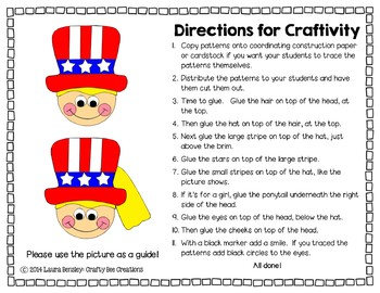 4th of July Craft {4th of July Kids}
