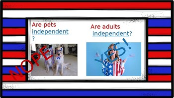 4th of July Language Power point