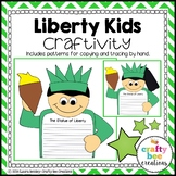 4th of July Liberty Kids Craftivity