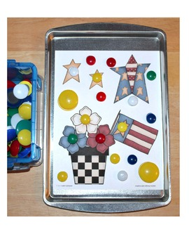 4th of July Magnet Sheets