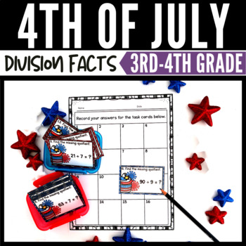 4th of July Math Division