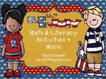 4th of July Math & Literacy Centers + More