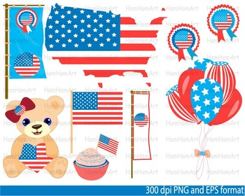 4th of July National Day Clip Art school Super Hero halloween birthday -096-