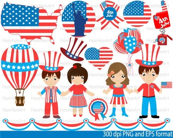 4th of July National Day Clip Art school Super Hero hallow