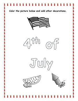 4th of July Packet