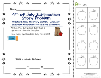 4th of July Activity Packet