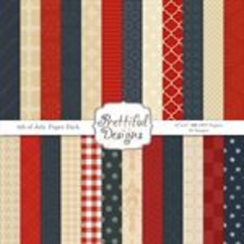 4th of July Paper Pack