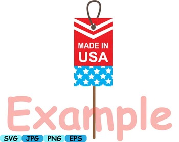4th of July Party Photo Booth Prop props svg clip art Décor diy patriotic -172s