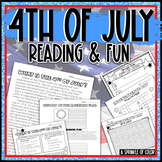 4th of July Reading and Fun