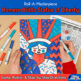 4th of July: Romero Britto Statue of Liberty Art History G