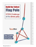 4th of July STEM Challenge: Build the Tallest Flag Pole