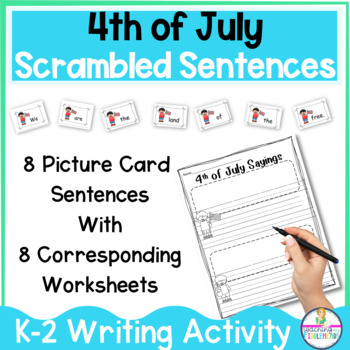 4th of July Sayings A FUN Sentence Building