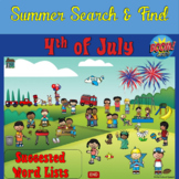 4th of July Search and Find for Boom Cards