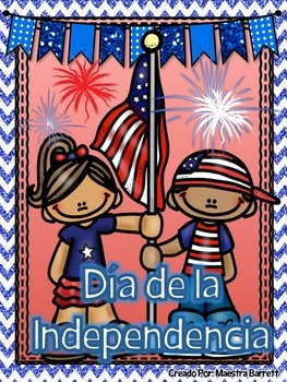 #Lomejorde2016 4th of July Spanish/ 4 de julio ¡Lee, Escribe y Aprende!