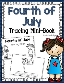 4th of July Tracing Mini-Book