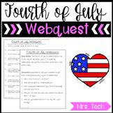 4th of July Webquest