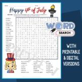 4th of July Word Search 3