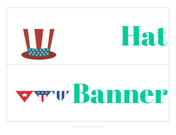 4th of July: Word Wall
