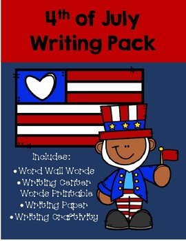 4th of July Writing Packet