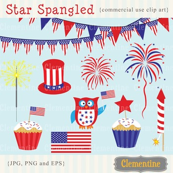 4th of July clip art, Independence Day clip art images