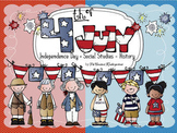 4th of July/Independence Day Social Studies - History Kindergarten and 1st Grade