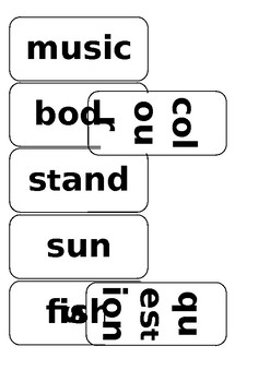 4th set of sight/common word vocabulary flash cards
