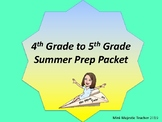 4th to 5th Grade Summer Prep Packet