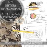4th to 6th Grade Art Project: Prehistoric Art History Trav