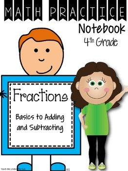 Daily Intervention Notebook - Fractions
