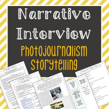 Narrative Interview: Photojournalism Portraits