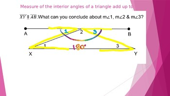 5.1- Interior and Exterior Angles of a Triangle