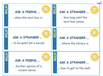5-15 Minute Mini-Conversation Starter Cards - Cdn. Spelling