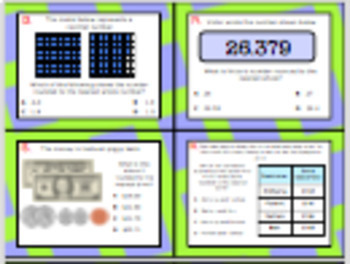 5.2C (DECK 2): Rounding Decimals STAAR Test Prep Task Cards!