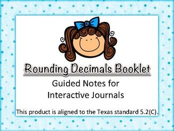 5.2C - Rounding Decimals Book