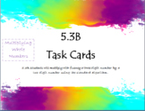 5.3B Task Cards- Multiplying Whole Numbers