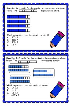 5.3D Multiplying Decimals by Whole Numbers with Models