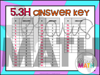 5.3H: Add & Subtract Fractions STAAR Test Prep Task Cards! (Grade 5)
