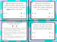 5.3L (DECK 2): Divide Whole Numbers & Fractions STAAR Test Prep Task Cards!