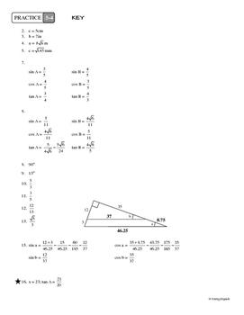 5-4 Introduction to Trigonometry