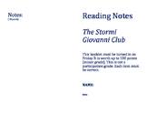 5.4 Week 4 The Stormi Giovanni Club Reading Street Reading